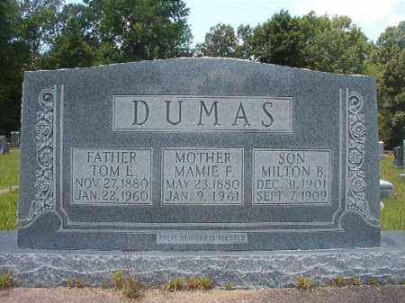 DUMAS, TOM E - Union County, Arkansas | TOM E DUMAS - Arkansas Gravestone Photos
