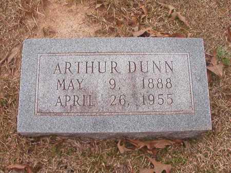 DUNN, ARTHUR - Union County, Arkansas | ARTHUR DUNN - Arkansas Gravestone Photos