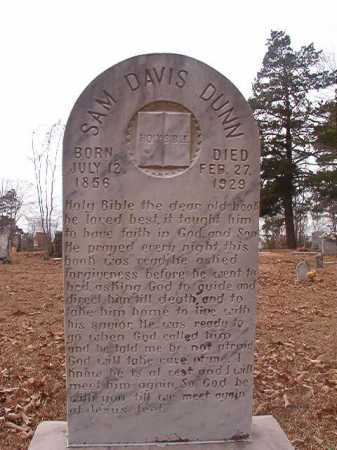 DUNN, SAM DAVIS - Union County, Arkansas | SAM DAVIS DUNN - Arkansas Gravestone Photos