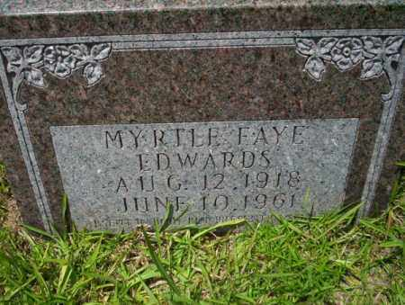 EDWARDS, MYRTLE FAYE - Union County, Arkansas | MYRTLE FAYE EDWARDS - Arkansas Gravestone Photos