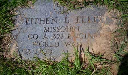 ELLIS  (VETERAN WWII), EITHEN L - Union County, Arkansas | EITHEN L ELLIS  (VETERAN WWII) - Arkansas Gravestone Photos