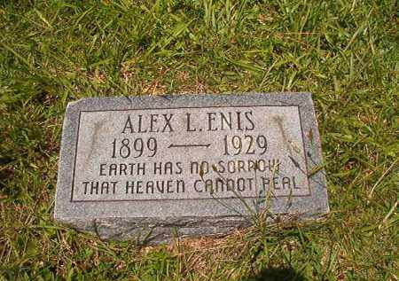 ENIS, ALEX L - Union County, Arkansas | ALEX L ENIS - Arkansas Gravestone Photos