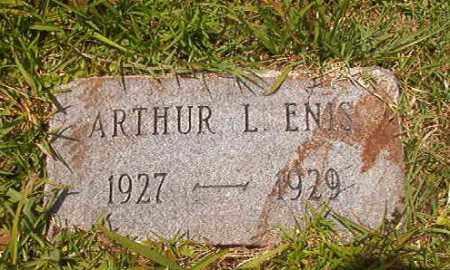 ENIS, ARTHUR L - Union County, Arkansas | ARTHUR L ENIS - Arkansas Gravestone Photos