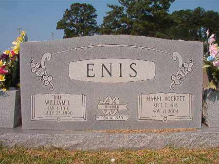 ENIS, WILLIAM L - Union County, Arkansas | WILLIAM L ENIS - Arkansas Gravestone Photos