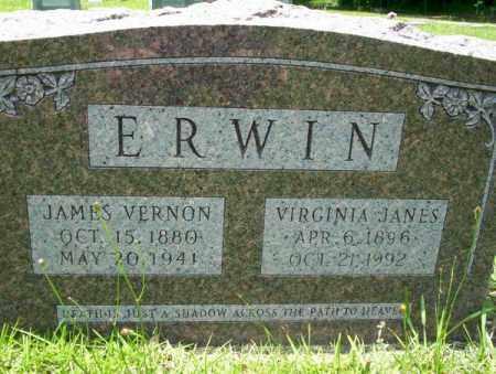 ERWIN, JAMES VERNON - Union County, Arkansas | JAMES VERNON ERWIN - Arkansas Gravestone Photos