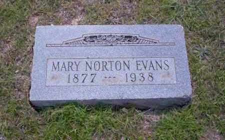 NORTON EVANS, MARY - Union County, Arkansas | MARY NORTON EVANS - Arkansas Gravestone Photos