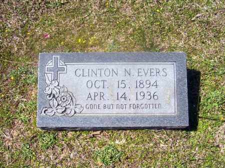 EVERS, CLINTON NATHANIEL - Union County, Arkansas | CLINTON NATHANIEL EVERS - Arkansas Gravestone Photos