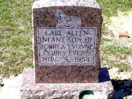 EVERS, CARL ALEN - Union County, Arkansas   CARL ALEN EVERS - Arkansas Gravestone Photos