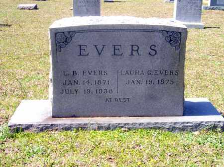 EVERS, LAURA G. - Union County, Arkansas | LAURA G. EVERS - Arkansas Gravestone Photos