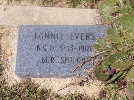EVERS, LONNIE - Union County, Arkansas | LONNIE EVERS - Arkansas Gravestone Photos