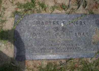 EVERS (VETERAN WWII), CHARLES E - Union County, Arkansas   CHARLES E EVERS (VETERAN WWII) - Arkansas Gravestone Photos