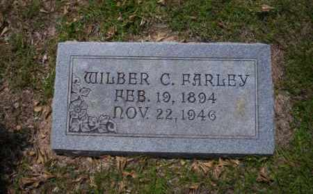 FARLEY, WILBER C - Union County, Arkansas | WILBER C FARLEY - Arkansas Gravestone Photos