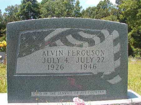 FERGUSON (VETERAN), ALVIN - Union County, Arkansas | ALVIN FERGUSON (VETERAN) - Arkansas Gravestone Photos