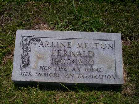FERNALD, ARLINE - Union County, Arkansas | ARLINE FERNALD - Arkansas Gravestone Photos