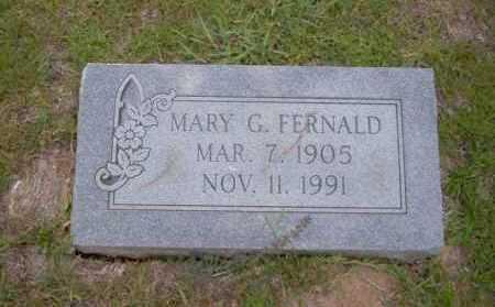 FERNALD, MARY G - Union County, Arkansas   MARY G FERNALD - Arkansas Gravestone Photos