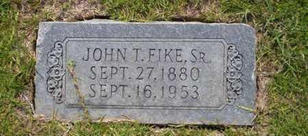 FIKE SR, JOHN T - Union County, Arkansas | JOHN T FIKE SR - Arkansas Gravestone Photos