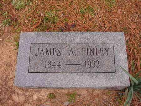 FINLEY, JAMES A - Union County, Arkansas | JAMES A FINLEY - Arkansas Gravestone Photos