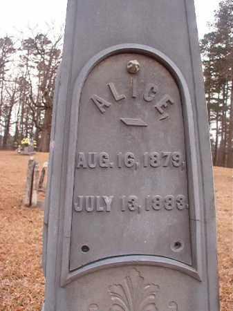 FLOYD, ALICE - Union County, Arkansas | ALICE FLOYD - Arkansas Gravestone Photos