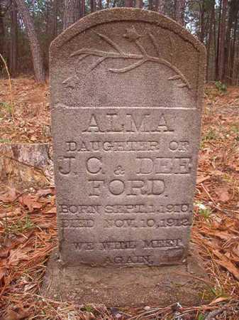 FORD, ALMA - Union County, Arkansas | ALMA FORD - Arkansas Gravestone Photos