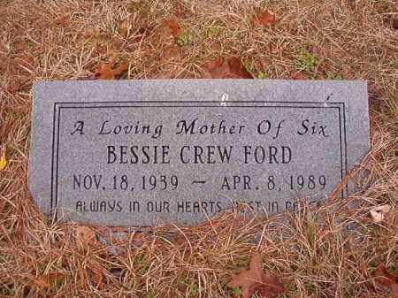 FORD, BESSIE - Union County, Arkansas | BESSIE FORD - Arkansas Gravestone Photos
