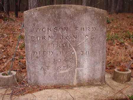 FORD, JACKSON - Union County, Arkansas | JACKSON FORD - Arkansas Gravestone Photos