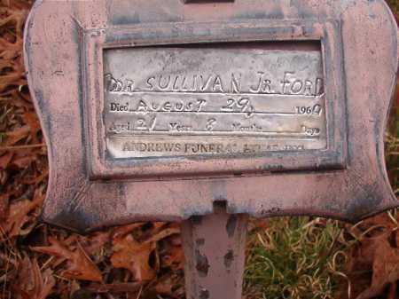 FORD, JR, SULLIVAN - Union County, Arkansas | SULLIVAN FORD, JR - Arkansas Gravestone Photos