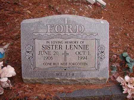 FORD, LENNIE - Union County, Arkansas | LENNIE FORD - Arkansas Gravestone Photos