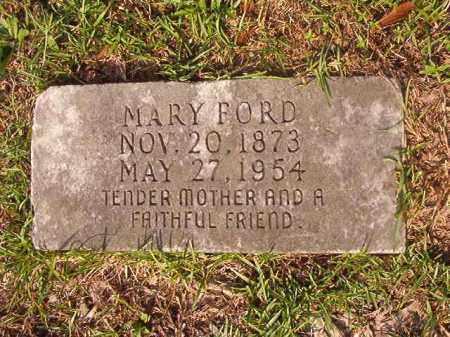 FORD, MARY - Union County, Arkansas | MARY FORD - Arkansas Gravestone Photos