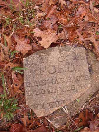 FORD, UNKNOWN - Union County, Arkansas   UNKNOWN FORD - Arkansas Gravestone Photos