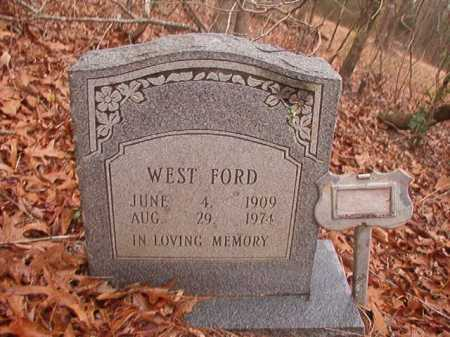 FORD, WEST - Union County, Arkansas | WEST FORD - Arkansas Gravestone Photos
