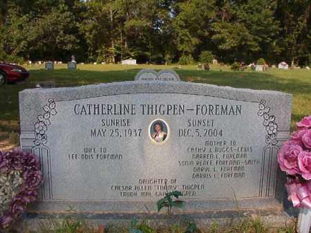 THIGPEN FOREMAN, CATHERLINE - Union County, Arkansas | CATHERLINE THIGPEN FOREMAN - Arkansas Gravestone Photos