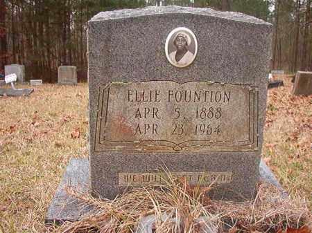 FOUNTION, ELLIE - Union County, Arkansas   ELLIE FOUNTION - Arkansas Gravestone Photos