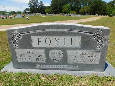 FOYIL, ACE - Union County, Arkansas   ACE FOYIL - Arkansas Gravestone Photos