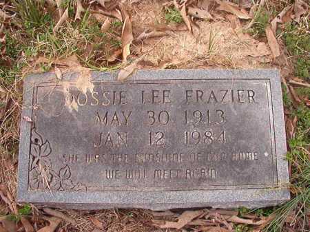 FRAZIER, DOSSIE LEE - Union County, Arkansas | DOSSIE LEE FRAZIER - Arkansas Gravestone Photos