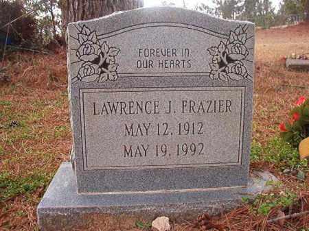 FRAZIER, LAWRENCE J - Union County, Arkansas   LAWRENCE J FRAZIER - Arkansas Gravestone Photos