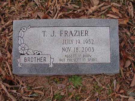 FRAZIER, T J - Union County, Arkansas   T J FRAZIER - Arkansas Gravestone Photos