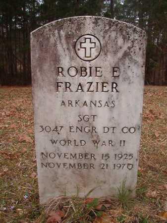 FRAZIER (VETERAN WWII), ROBIE E - Union County, Arkansas   ROBIE E FRAZIER (VETERAN WWII) - Arkansas Gravestone Photos