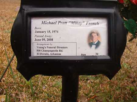 "FRENCH, MICHAEL PRATT ""MIKEY"" - Union County, Arkansas   MICHAEL PRATT ""MIKEY"" FRENCH - Arkansas Gravestone Photos"