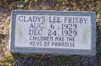 FRISBY, GLADYS LEE - Union County, Arkansas | GLADYS LEE FRISBY - Arkansas Gravestone Photos