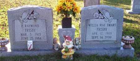 SMART FRISBY, WILLA MAE - Union County, Arkansas | WILLA MAE SMART FRISBY - Arkansas Gravestone Photos