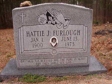 FURLOUGH, HATTIE J - Union County, Arkansas | HATTIE J FURLOUGH - Arkansas Gravestone Photos