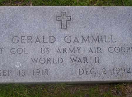 GAMMILL  (VETERAN WWII), GERALD - Union County, Arkansas | GERALD GAMMILL  (VETERAN WWII) - Arkansas Gravestone Photos