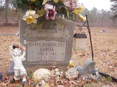 DOMINGUEZ GARCIA, MARIA - Union County, Arkansas | MARIA DOMINGUEZ GARCIA - Arkansas Gravestone Photos