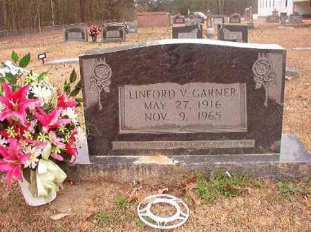 GARNER, LINFORD V - Union County, Arkansas | LINFORD V GARNER - Arkansas Gravestone Photos