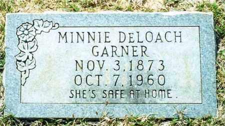 GARNER, MINNIE - Union County, Arkansas   MINNIE GARNER - Arkansas Gravestone Photos