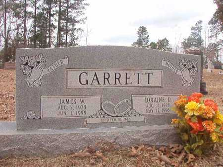 GARRETT, LORAINE D - Union County, Arkansas | LORAINE D GARRETT - Arkansas Gravestone Photos