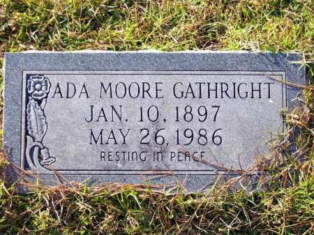 GATHRIGHT, ADA - Union County, Arkansas | ADA GATHRIGHT - Arkansas Gravestone Photos