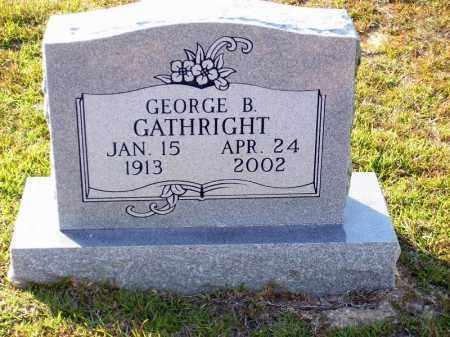 GATHRIGHT, GEORGE B. - Union County, Arkansas | GEORGE B. GATHRIGHT - Arkansas Gravestone Photos