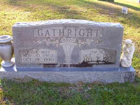 GATHRIGHT, JOSIE MAY - Union County, Arkansas | JOSIE MAY GATHRIGHT - Arkansas Gravestone Photos
