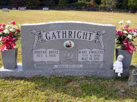 HUNTER GATHRIGHT, MARY EMOGENE - Union County, Arkansas | MARY EMOGENE HUNTER GATHRIGHT - Arkansas Gravestone Photos